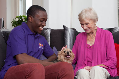 Befriending: boosting emotional well-being improved patients' overall health (Photo: WRVS)