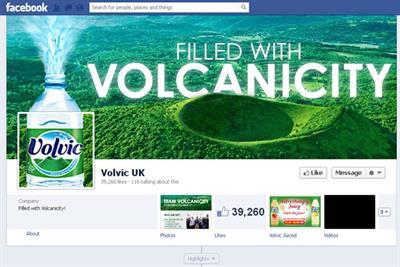 Volvic runs Facebook search for social brand advocates