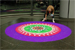 RMG creates Rangoli art in Canary Wharf for HSBC