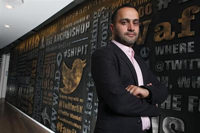 Twitter appoints Nasr UK managing director