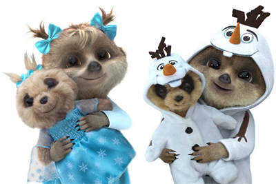 Do you want to build a meerkat? Comparethemarket teams with Disney for Frozen-themed toys
