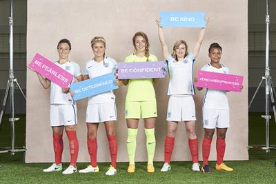 Disney and FA team up to get girls playing football