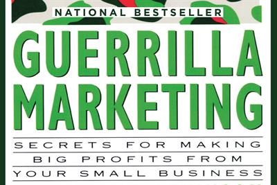 History of advertising: No 167: Jay Conrad Levinson's Guerrilla Marketing