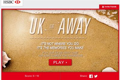 Staycation or vacation? HSBC campaign urges consumers to make happy holiday memories
