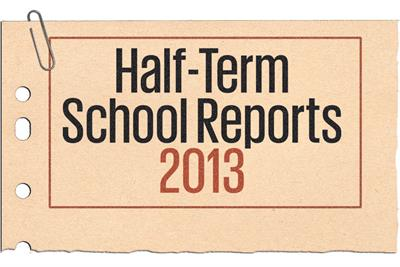 Half-Term Reports 2013: Making the  grade