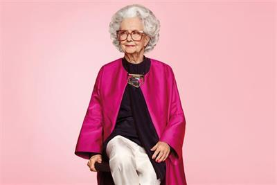 "Pick of the week: Harvey Nichols ""Bo Gilbert the 100-year-old model"" by A&E/DDB"