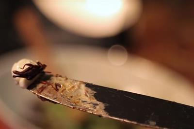 Economist serves up insect crepes in campaign to tackle world hunger