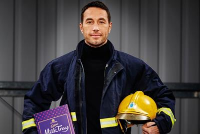 Cadbury's new Milk Tray Man on taking the 'iconic role'