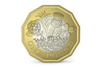 Agencies vie for brief to launch new £1 coin
