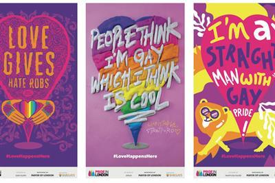 "Pick of the week: Pride in London ""Love happens here"" by WCRS"