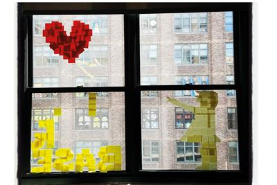 Post-it wars: the creative craze that swept New York's ad scene