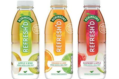 Britvic launches Robinson's Refresh'd brand for health-conscious on-the-go consumers