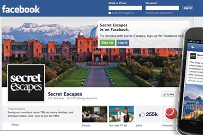 Connected Campaign of the Month: Secret Escapes