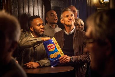 Walkers launches Champions League campaign for sharing packs