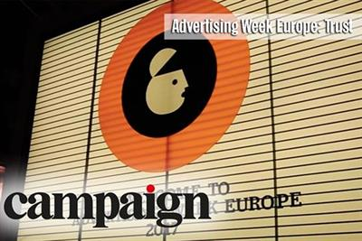 Campaign TV: trust dominates discussion at Advertising Week Europe
