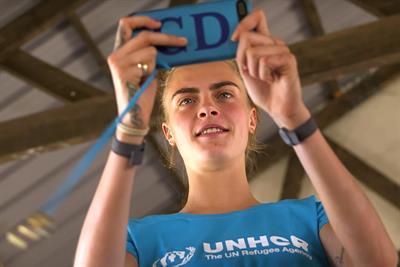 Cara Delevingne turns social activist for Puma