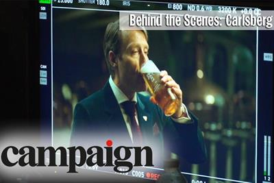 Watch: behind the scenes of Carlsberg's new campaign