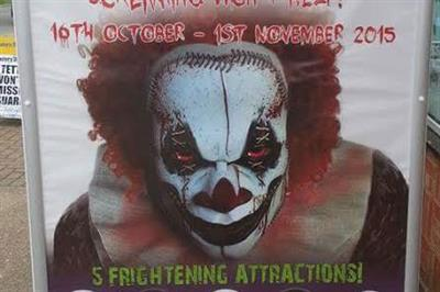 Scary clown Halloween ad banned for being irresponsible and causing offence