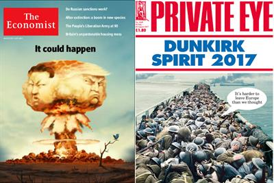Economist reclaims current affairs top spot from Private Eye