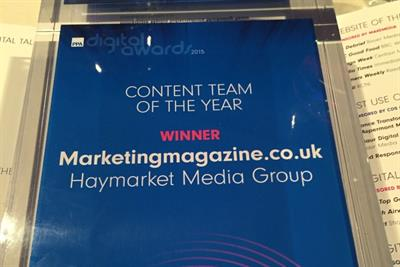 Marketing scoops Business Content Team of the Year at PPA Digital Awards