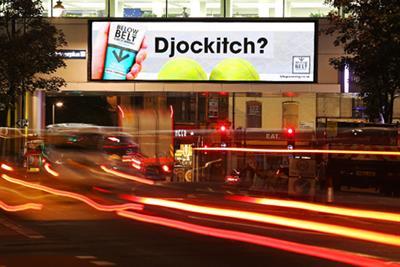 Jonathan Durden's 'Djockitch' ad leads Wimbledon ad poll