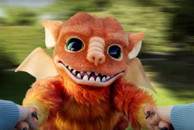 Can a baby dragon sum up the sensation of eating Doritos? Watch this spicy space
