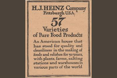 History of advertising: No 140: Heinz's 57 varieties