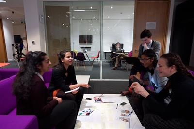 JWT welcomes young people for Apprentice-style event