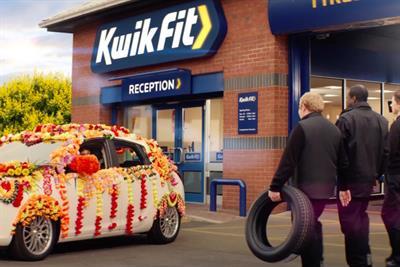 Kwik Fit's return to TV ads lauds staff as 'heroes'