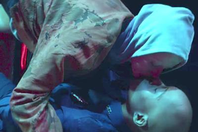 Absolut's neon-lit kisses capture the spirit of Pride