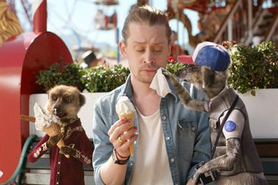 Comparethemarket.com takes 35-year-old Macaulay Culkin to the fairground
