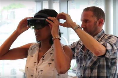 Microsoft's HoloLens and augmented reality explained for marketers