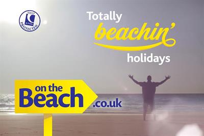 On the Beach holiday retailer awards media account to the7stars