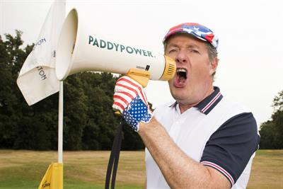 Piers Morgan wants to 'Make America Great Again' in Paddy Power ad
