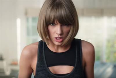 Campaign Viral Chart: Taylor Swift falling off treadmill goes viral for Apple