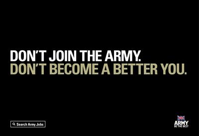 Army goes after Generation Z with reverse psychology
