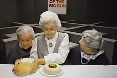 History of advertising: No 182: Clara Peller's hamburger