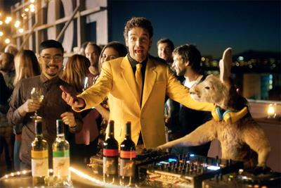 Watch: Yellow Tail's first Super Bowl ad targets beer drinkers with chill kangaroo