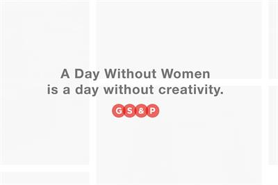 Goodby erases women's work from website for 'Day Without a Woman'