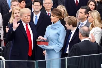 Trump draws 5th largest TV audience in inauguration history