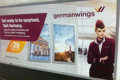 Germanwings pulls 'get ready to be surprised' ads after crash