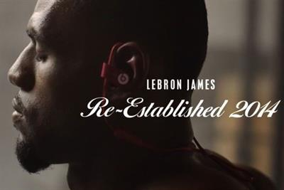 LeBron James returns home in new Beats campaign