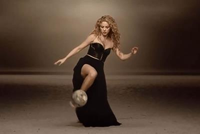 Shakira's Activia ad was 2014's most shared