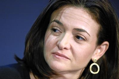 Facebook's Sandberg: Industry must celebrate ads that celebrate women