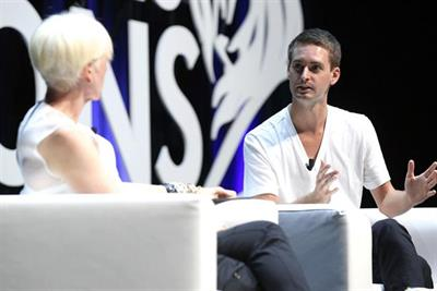 'Brands shouldn't act as a buddy on social media' says Snapchat's Evan Spiegel