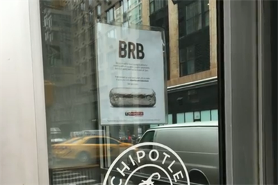 Chipotle consumers confused by, or unaware of, one-day closure