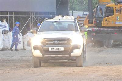 In Thailand, Ford stages action-packed Ranger demo