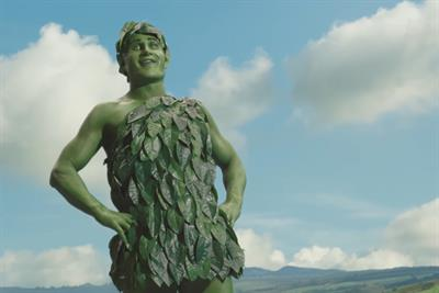 How the Jolly Green Giant became a real man again