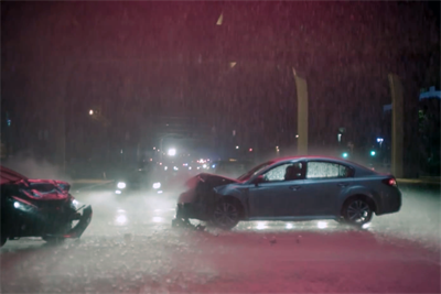 When it comes to protecting kids, Subaru proves parents would rather laugh than cry