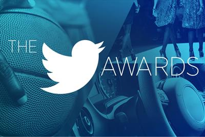 Twitter launches advertising awards